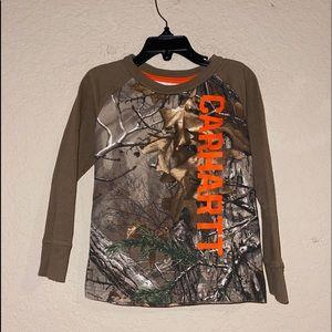 Carhartt Long Sleeve Camouflage Shirt